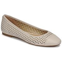 Cipők Női Balerina cipők  MICHAEL Michael Kors ALYSSA FLEX BALLET Bézs