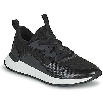 Cipők Férfi Rövid szárú edzőcipők MICHAEL Michael Kors NOLAN Fekete