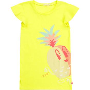 Ruhák Lány Rövid ruhák Billieblush / Billybandit U12625-599 Citromsárga