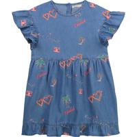 Ruhák Lány Rövid ruhák Billieblush / Billybandit U12640-Z10 Kék