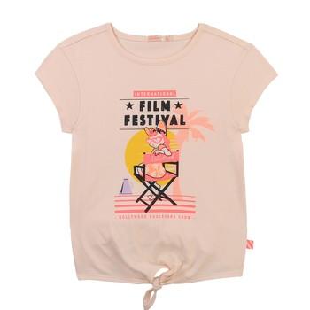 Ruhák Lány Rövid ujjú pólók Billieblush / Billybandit U15852-44F Rózsaszín