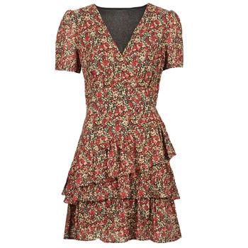 Ruhák Női Rövid ruhák Moony Mood ORNAMA Piros