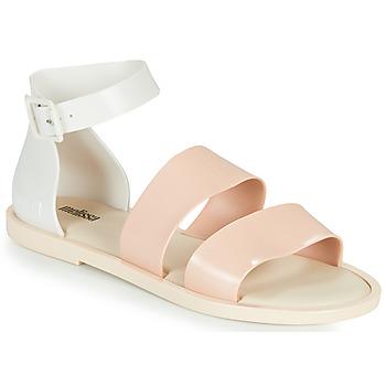 Cipők Női Szandálok / Saruk Melissa MELISSA MODEL SANDAL Fehér / Rózsaszín