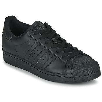 Cipők Rövid szárú edzőcipők adidas Originals SUPERSTAR Fekete