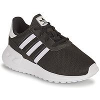 Cipők Fiú Rövid szárú edzőcipők adidas Originals LA TRAINER LITE EL I Fekete  / Fehér