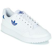 Cipők Rövid szárú edzőcipők adidas Originals NY 92 Fehér / Kék