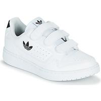 Cipők Gyerek Rövid szárú edzőcipők adidas Originals NY 92  CF C Fehér / Fekete