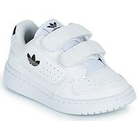 Cipők Gyerek Rövid szárú edzőcipők adidas Originals NY 92 CF I Fehér / Fekete