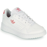 Cipők Gyerek Rövid szárú edzőcipők adidas Originals NY 92 C Fehér / Rózsaszín