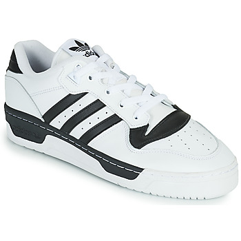 Cipők Rövid szárú edzőcipők adidas Originals RIVALRY LOW Fehér / Fekete