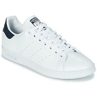 Cipők Rövid szárú edzőcipők adidas Originals STAN SMITH SUSTAINABLE Fehér / Tengerész