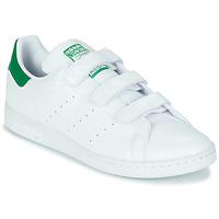 Cipők Rövid szárú edzőcipők adidas Originals STAN SMITH CF SUSTAINABLE Fehér / Zöld