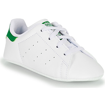 Cipők Gyerek Rövid szárú edzőcipők adidas Originals STAN SMITH CRIB SUSTAINABLE Fehér / Zöld