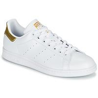 Cipők Női Rövid szárú edzőcipők adidas Originals STAN SMITH W SUSTAINABLE Fehér / Arany