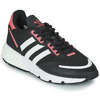 Cipők Női Rövid szárú edzőcipők adidas Originals ZX 1K BOOST W Fekete  / Rózsaszín