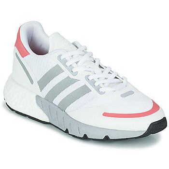 Cipők Női Rövid szárú edzőcipők adidas Originals ZX 1K BOOST W Fehér / Rózsaszín