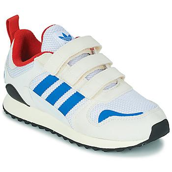 Cipők Gyerek Rövid szárú edzőcipők adidas Originals ZX 700 HD CF C Bézs / Kék