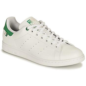 Cipők Rövid szárú edzőcipők adidas Originals STAN SMITH SUSTAINABLE Fehér / Zöld
