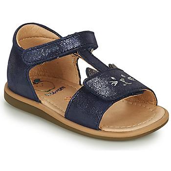 Cipők Lány Szandálok / Saruk Shoo Pom TITY MIAOU Kék