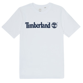 Ruhák Fiú Rövid ujjú pólók Timberland FONTANA Fehér