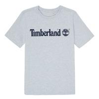 Ruhák Fiú Rövid ujjú pólók Timberland NINNO Szürke
