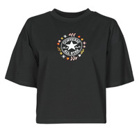 Ruhák Női Rövid ujjú pólók Converse CHUCK WOMENS WANDER TANK Fekete