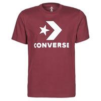 Ruhák Férfi Rövid ujjú pólók Converse STAR CHEVRON TEE Bordó