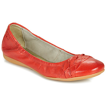 Cipők Női Balerina cipők  Dream in Green NERLINGO Piros