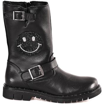 Cipők Női Bokacsizmák Holalà HL0009L0002J Fekete