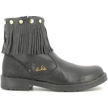 Cipők Gyerek Csizmák Lulu LL100020L Fekete