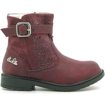 Cipők Gyerek Csizmák Lulu LL140006S Piros