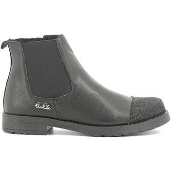 Cipők Gyerek Csizmák Lulu LL100022L Fekete