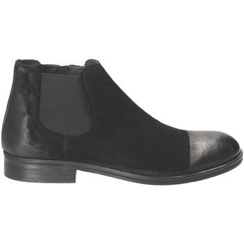 Cipők Férfi Csizmák Exton 5357 Fekete