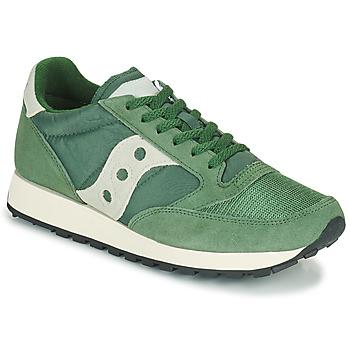 Cipők Férfi Rövid szárú edzőcipők Saucony JAZZ VINTAGE Zöld