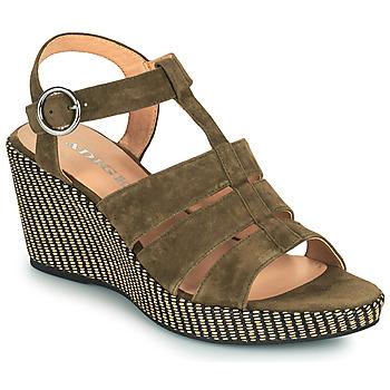 Cipők Női Szandálok / Saruk Adige FLORY V5 VELOURS MILITAIRE Keki