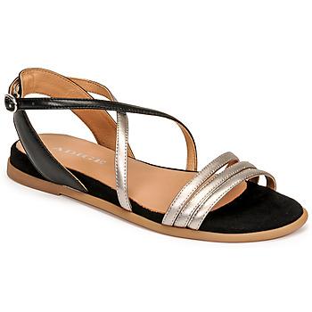 Cipők Női Szandálok / Saruk Adige IDIL V2 CENTURY ACERO Ezüst