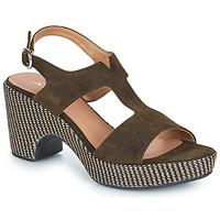 Cipők Női Szandálok / Saruk Adige ROMA V5 VELOURS MILITAR Keki