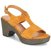 Cipők Női Szandálok / Saruk Adige ROMA V7 UNER SAFRAN Barna