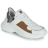 Cipők Női Rövid szárú edzőcipők John Galliano MISTEY Fehér