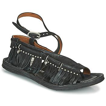 Cipők Női Szandálok / Saruk Airstep / A.S.98 RAMOS FRANGE Fekete
