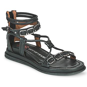 Cipők Női Szandálok / Saruk Airstep / A.S.98 POLA SQUARE Fekete