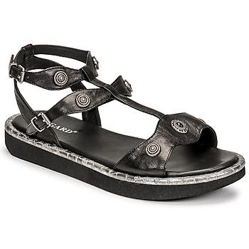 Cipők Női Szandálok / Saruk Regard ANGLET Fekete