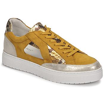 Cipők Női Rövid szárú edzőcipők Regard HARY2 Citromsárga