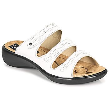 Cipők Női Papucsok Romika Westland IBIZA 66 Fehér
