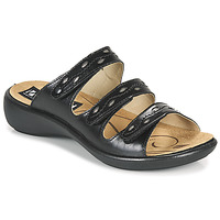 Cipők Női Papucsok Romika Westland IBIZA 66 Fekete
