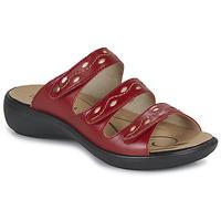 Cipők Női Papucsok Romika Westland IBIZA 66 Piros