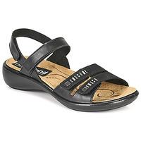 Cipők Női Szandálok / Saruk Romika Westland IBIZA 86 Fekete