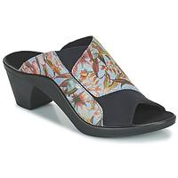Cipők Női Papucsok Romika Westland ST TROPEZ 244 Kék / Sokszínű