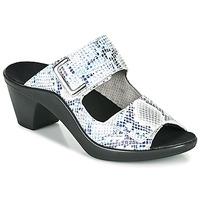 Cipők Női Papucsok Romika Westland ST TROPEZ 353 Fehér