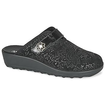Cipők Női Mamuszok Romika Westland GINA 110 Fekete